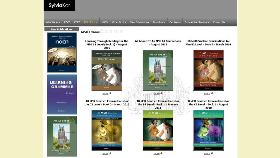 Sylvia Kar. Εκδόσεις ξενόγλωσσων βιβλίων